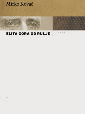 cover image of Elita gora od rulje